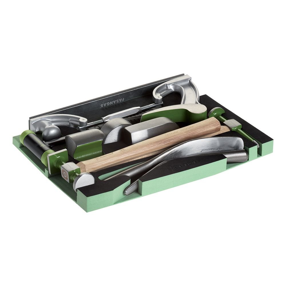 Form of 10pc special tools for car body shops