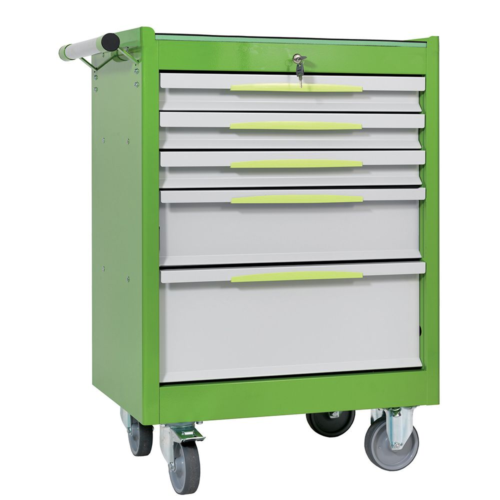 Tool trolley FG 102 with 5 drawers