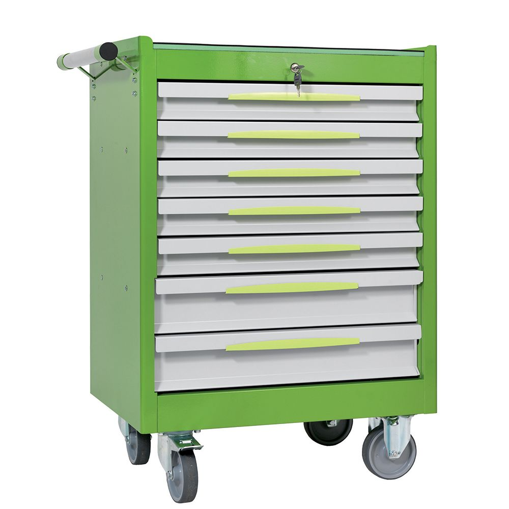 Tool trolley FG 102 with 7 drawers