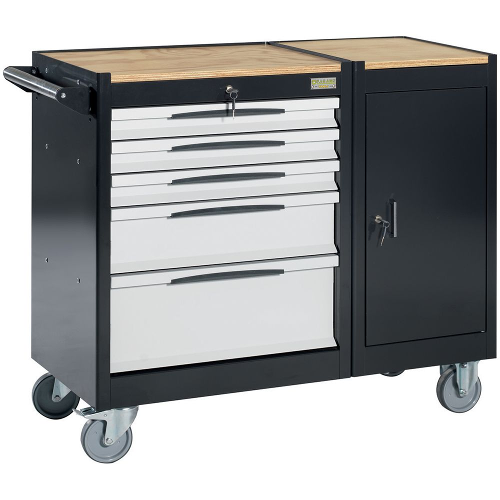 Tool trolley FG 105 with 5 drawers