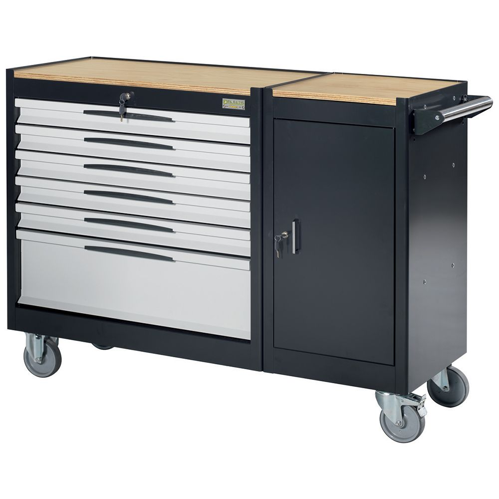 Tool trolley FG 109 with 6 drawers