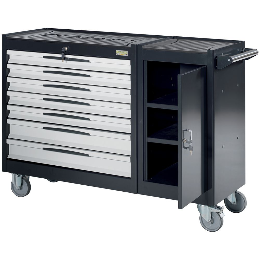 Tool trolley FG 109 with 7 drawers