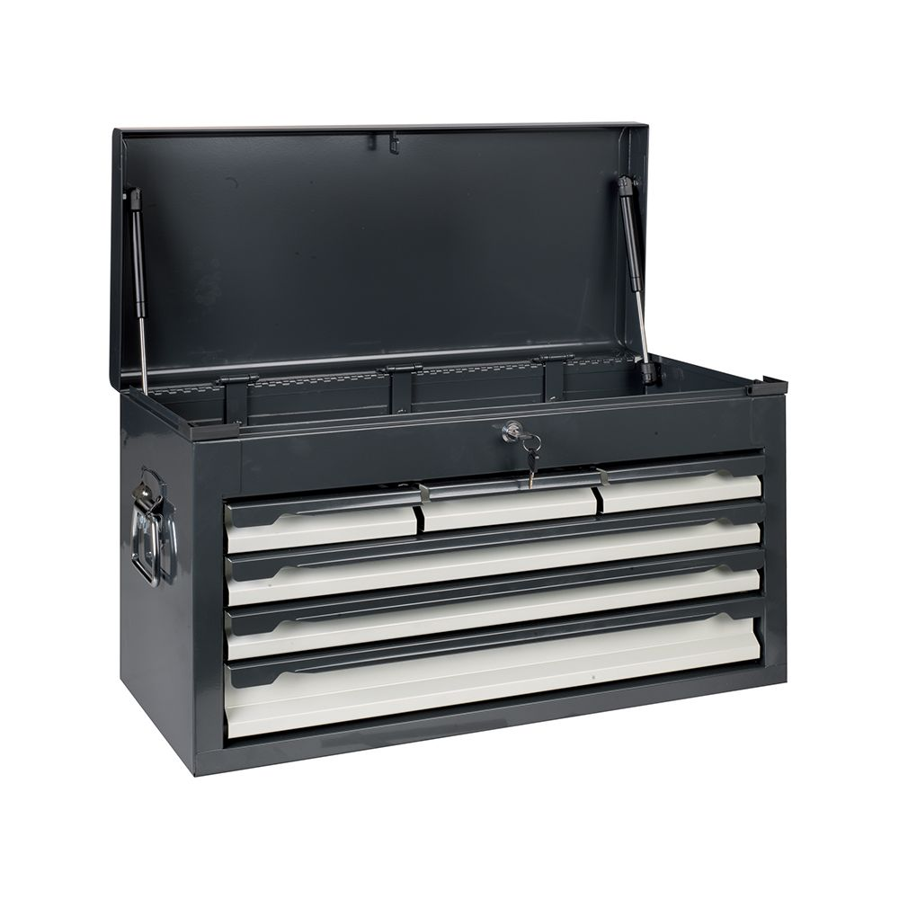 Portable tool chest with 6 drawers
