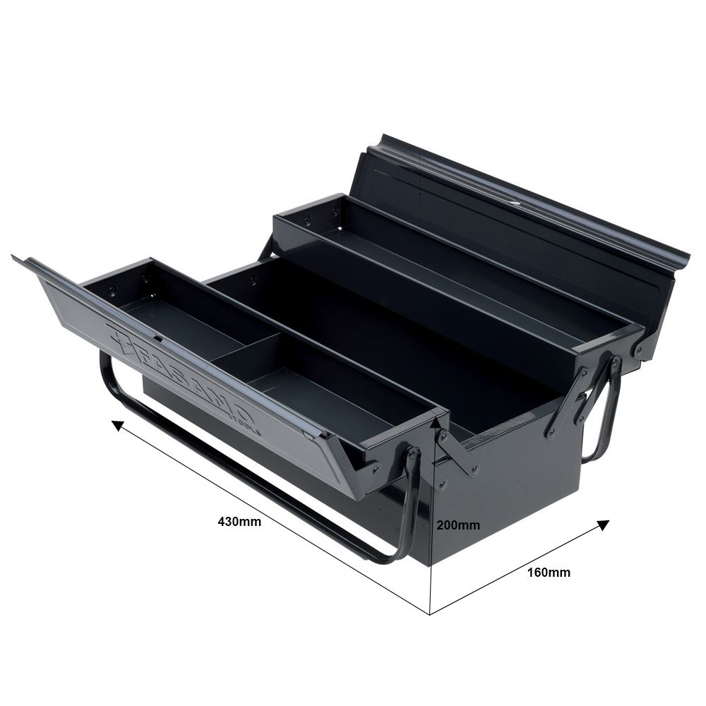 Tool chests with 3 compartments