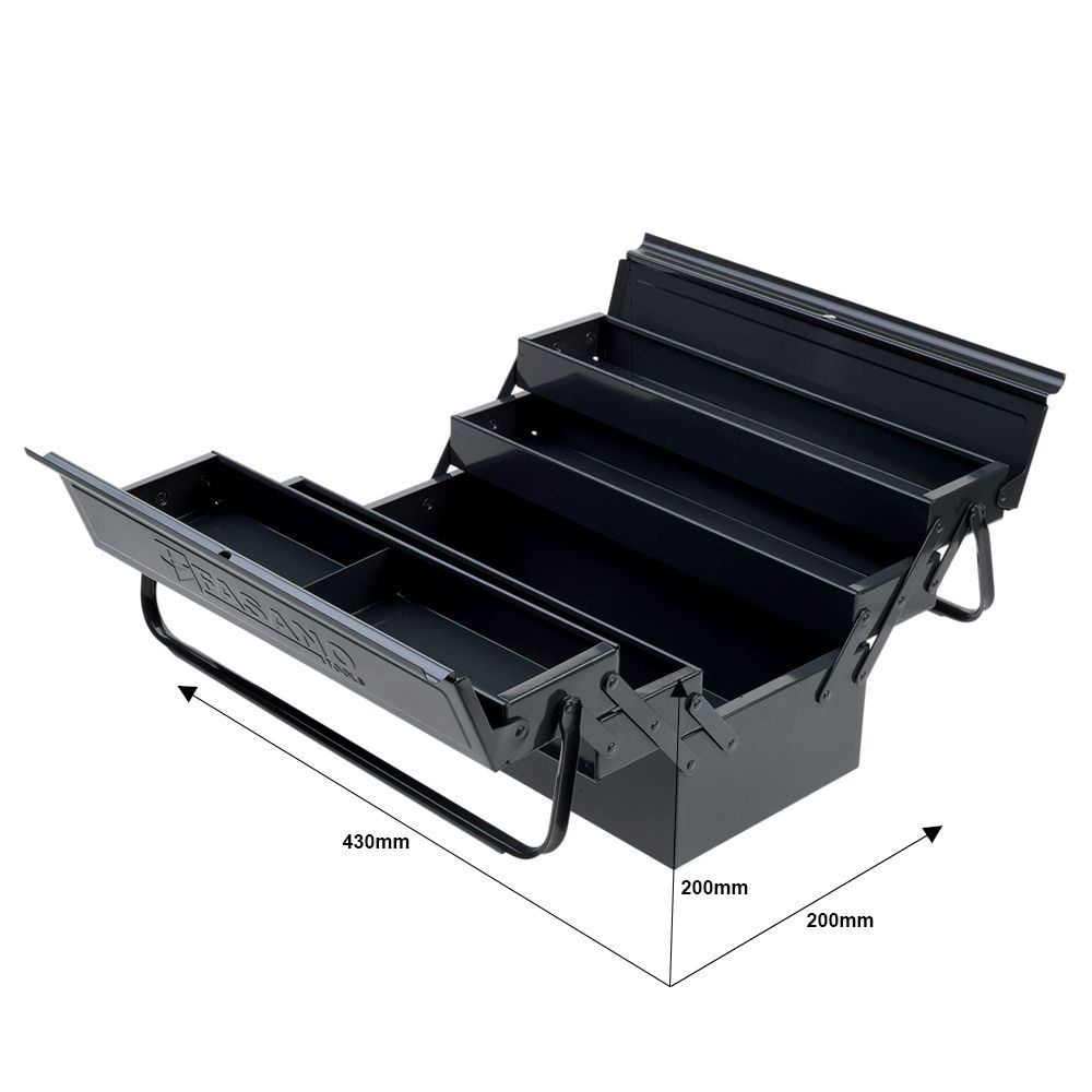 Tool chests with 5 compartments