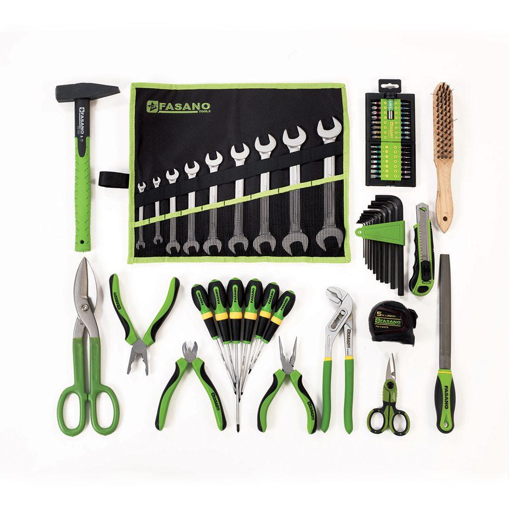 Assortment of 47 tools