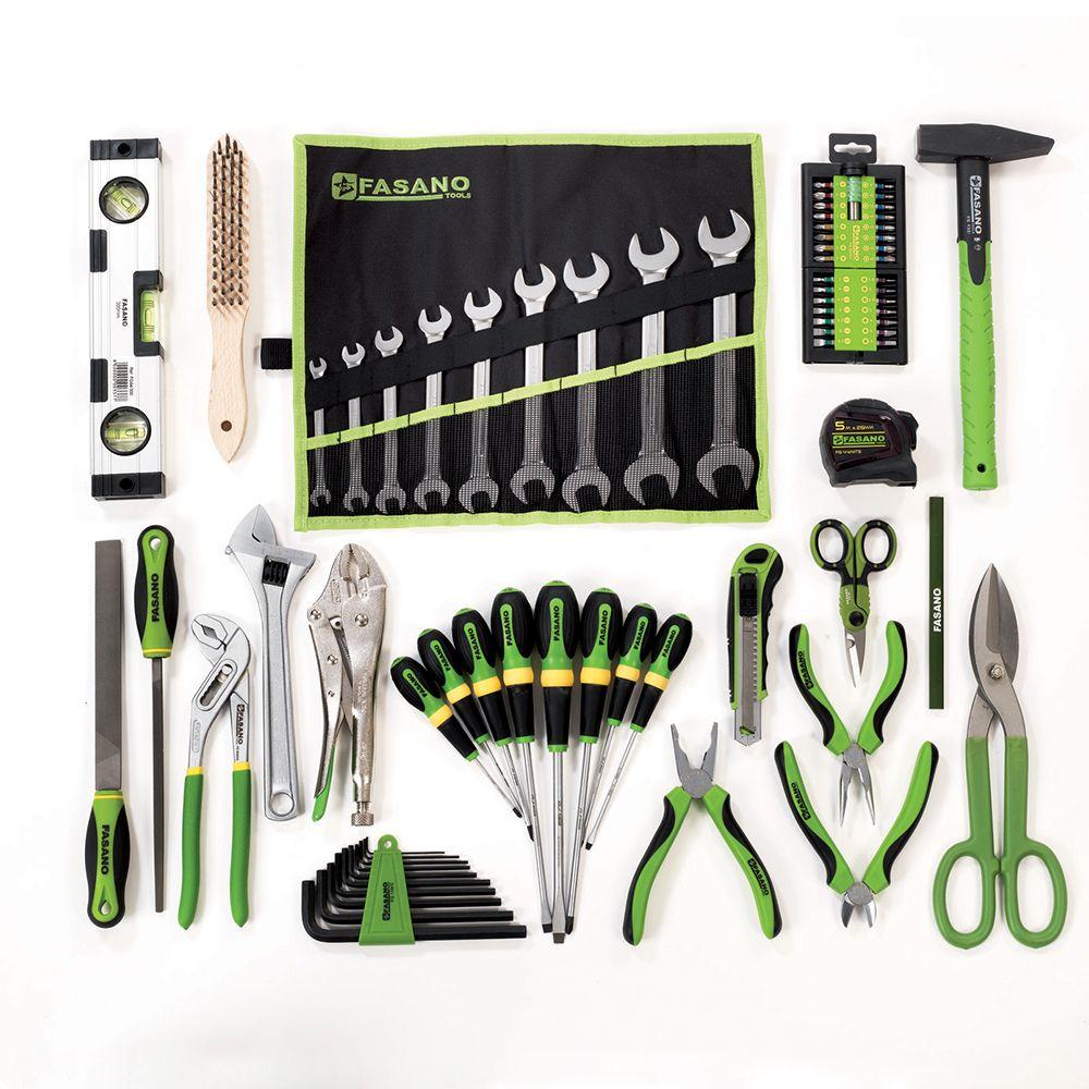 Assortment of 75 tools