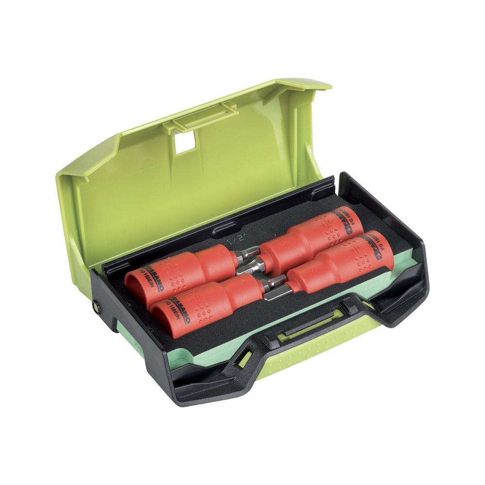 1/2''dr. Insulated hex socket bits set - long series