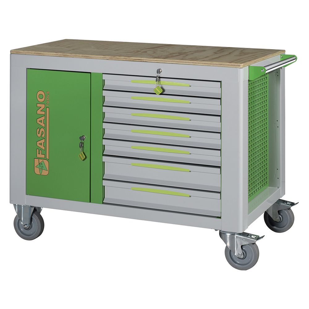 Tool trolley FG 160 with 14 drawers