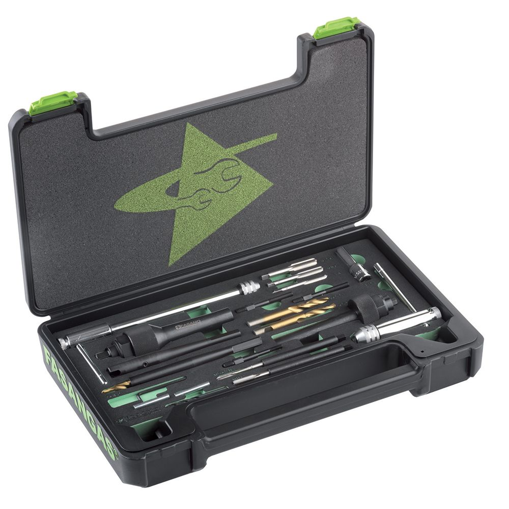 Kit of special tools for Diesel glow plugs' removing - M8, M9, M10