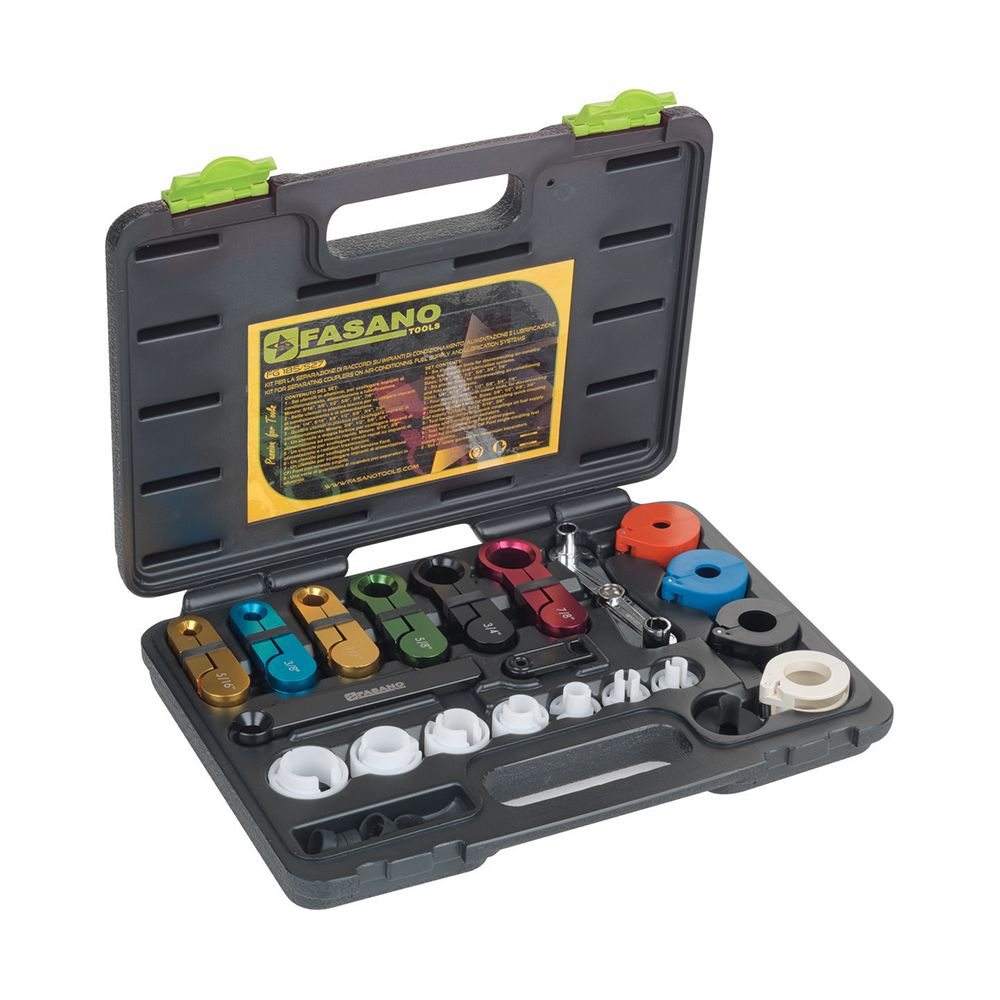Fuel and Air Conditin line disconnect set