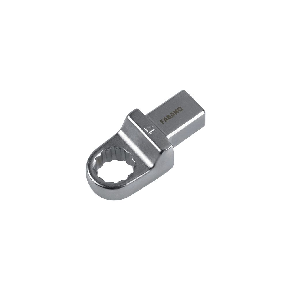 Ring ends for torque bars, 9x12mm