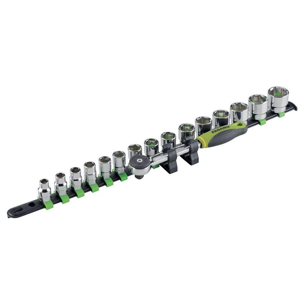 3/8''dr. Hex sockets set