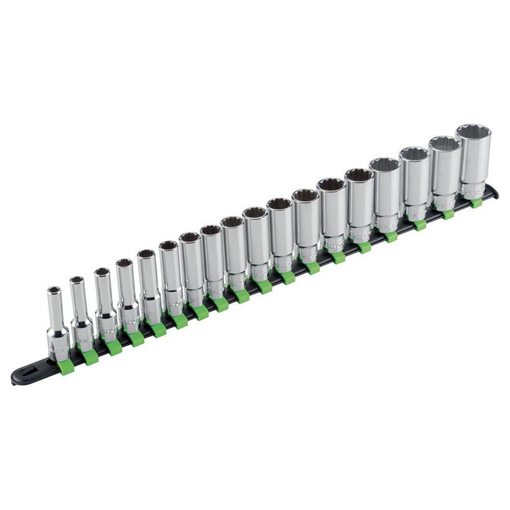 1/4''dr. Deep hex sockets set
