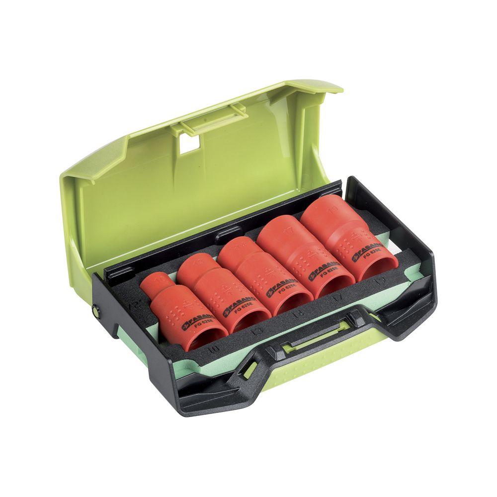 1/2''dr. Insulated sockets set - 1.000V