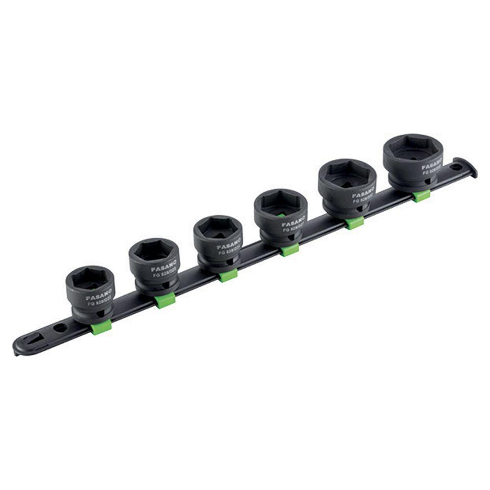 1/2''dr. Hex impact sockets set - ULTRA FLAT series