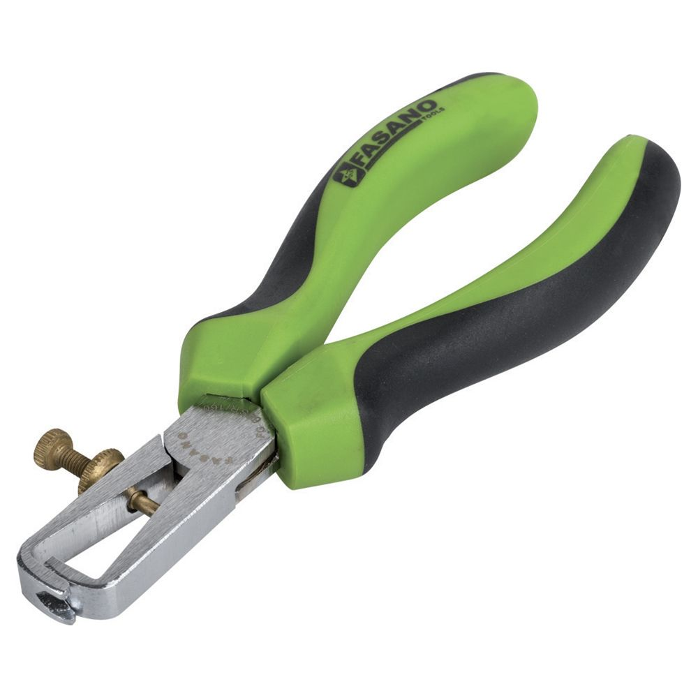 Wire stripping pliers equipped with Soft-Run system