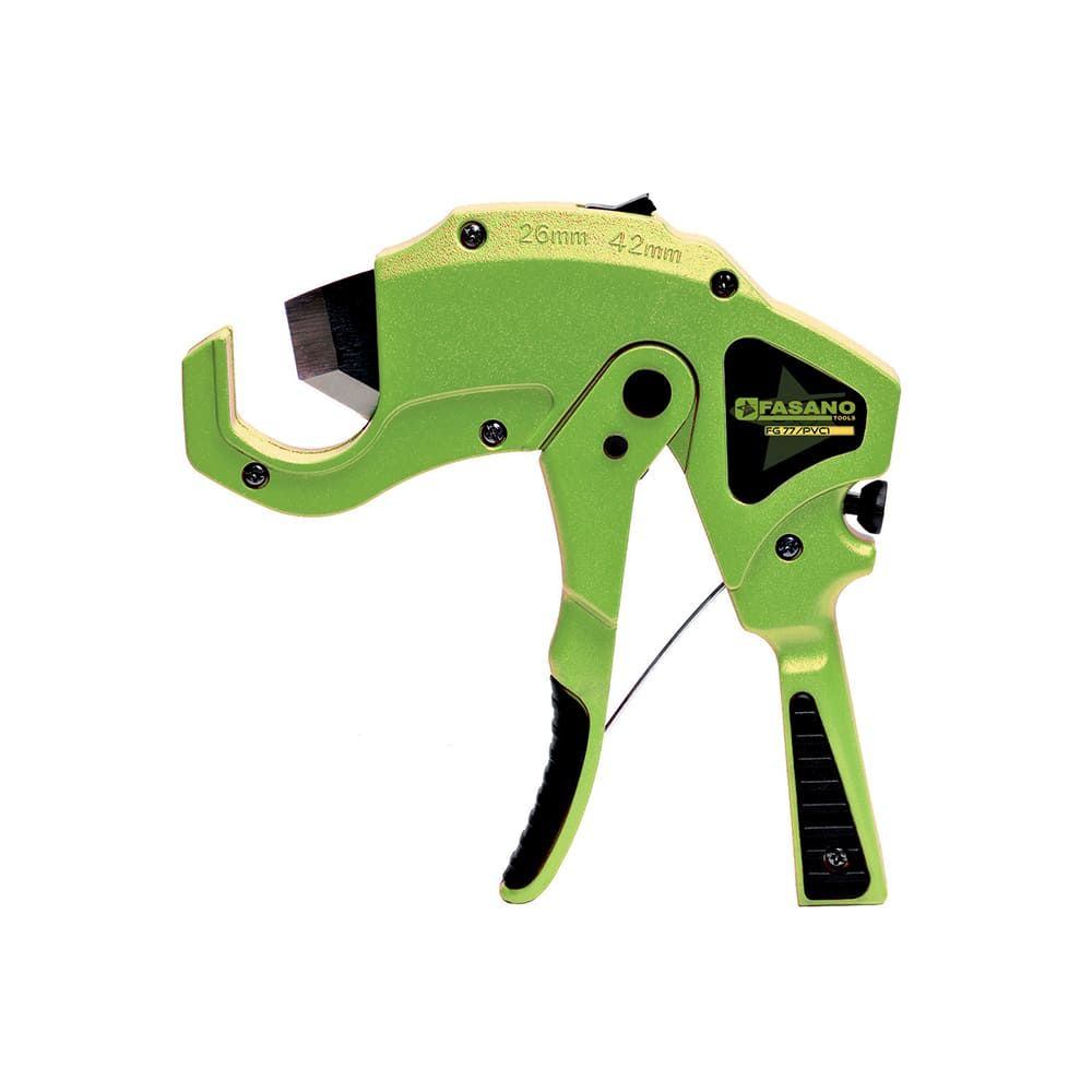 Pipe cutter for PVC tubes