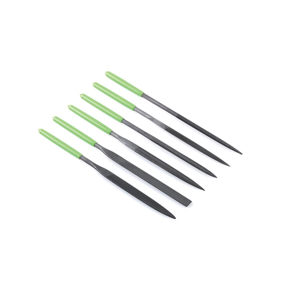 Needle files with PVC handle set