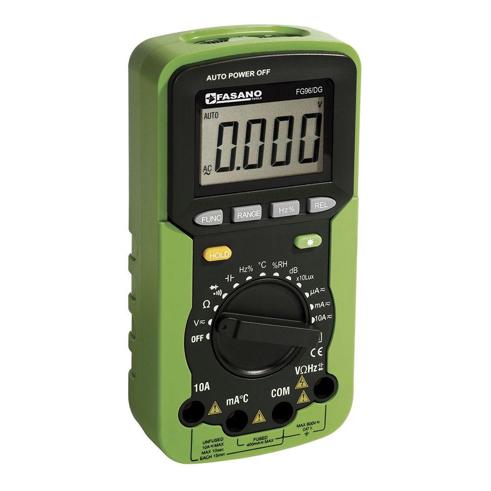 DC/AC-Ohm digital multimeter