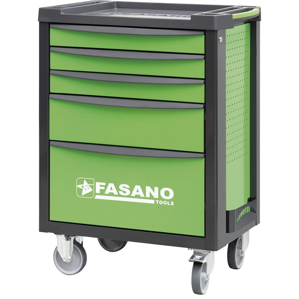 Tool trolley FG 100 with 5 drawers