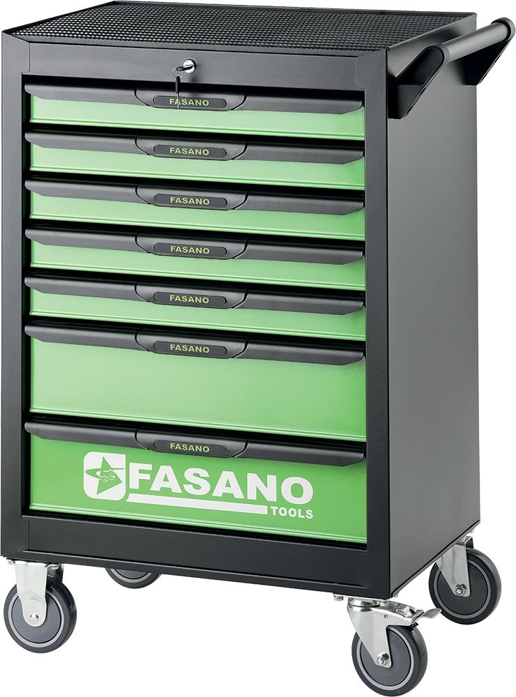 Tool trolley FG 101 with 7 drawers