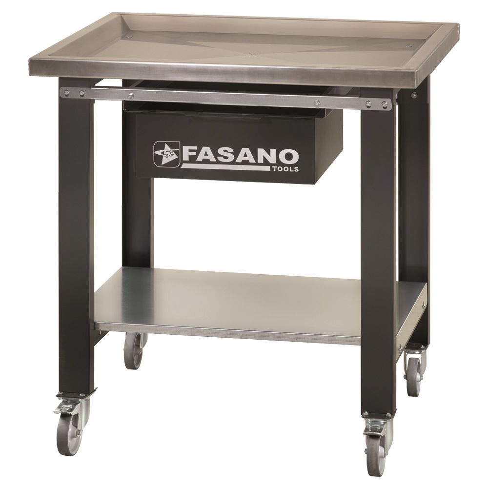 Special workbench with Stainless steel worktop