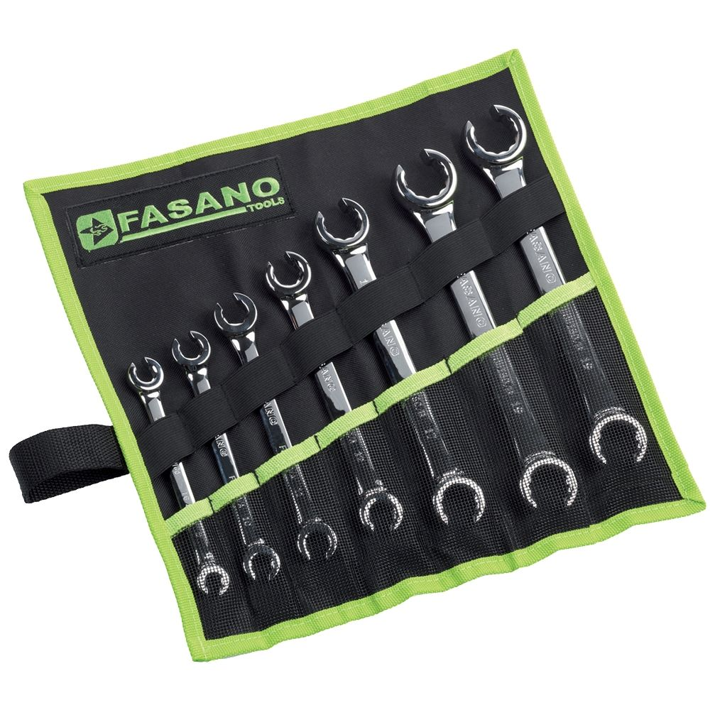 Flare nut wrenches set - inch series