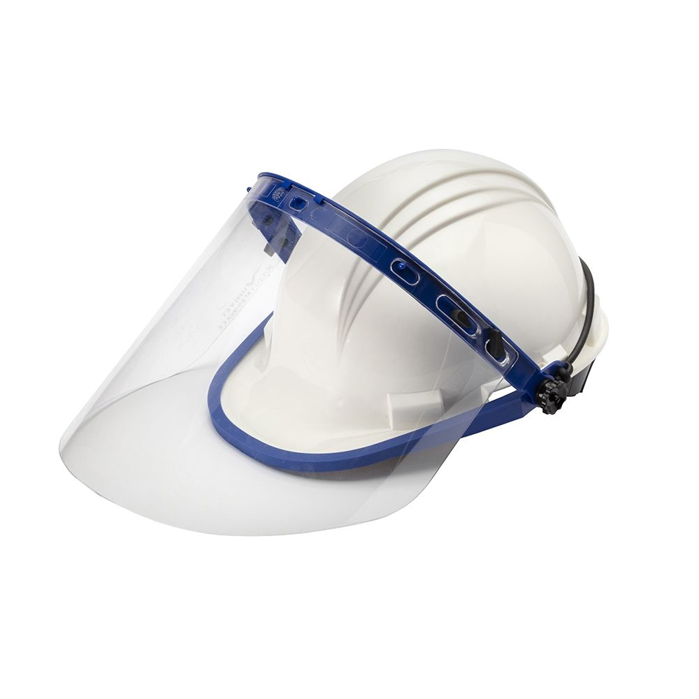 Dielectric helmet 1.000V equipped with adjustable and removable eyes' protection