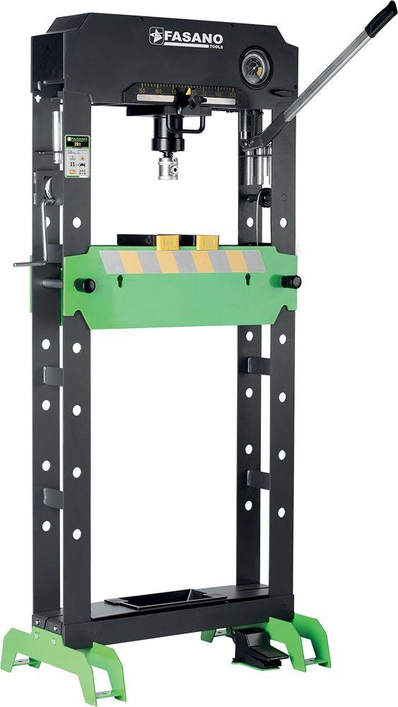 Pnemuatic & Manual shop press