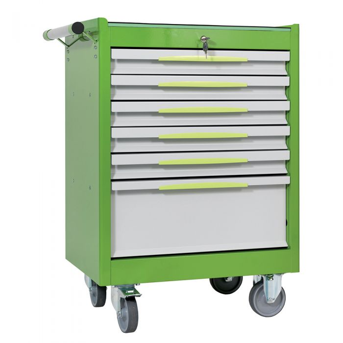 Tool trolley FG 102 with 6 drawers