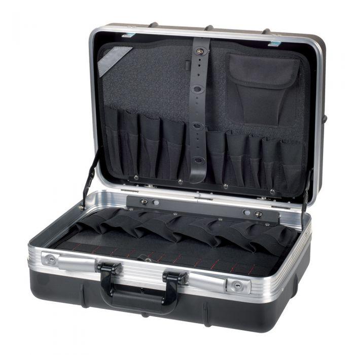 Polypropilene tool case with trolley - Heavy duty