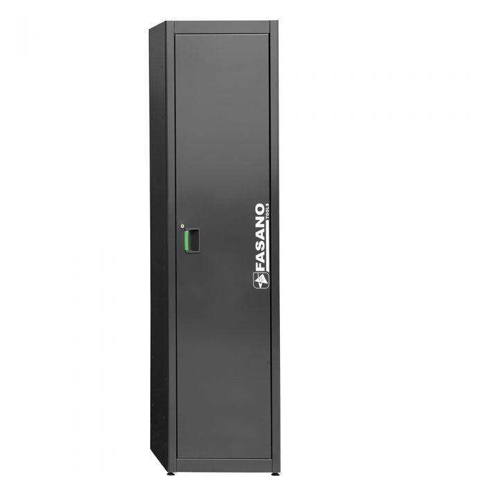 Metal cabinet with 1 door
