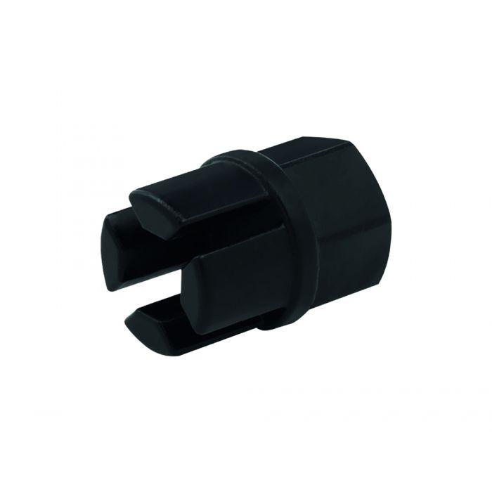 Radiator drain plug tool