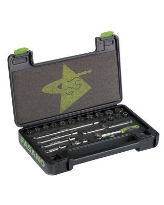 3/8''dr. 12PT sockets set
