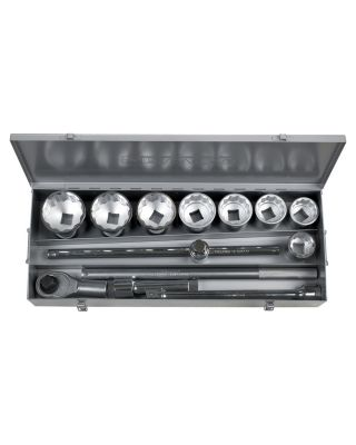 1''dr. 12PT sockets set wrenches
