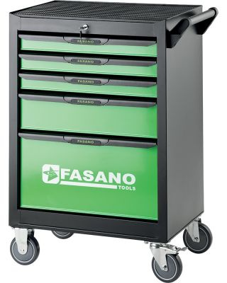 Tool trolley FG 101 with 5 drawers