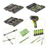 Assortment of 90pcs tools in plastic tray