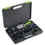 Set of Weather-pack connectors + pliers