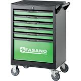 Tool trolley FG 101 with 6 drawers