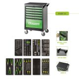 Tool Box FG 101 with 6 drawers and 151pcs assortment of professional tools